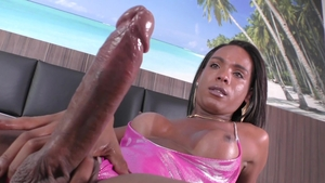 TSFactor: Nailed rough accompanied by transsexual Gabriella F